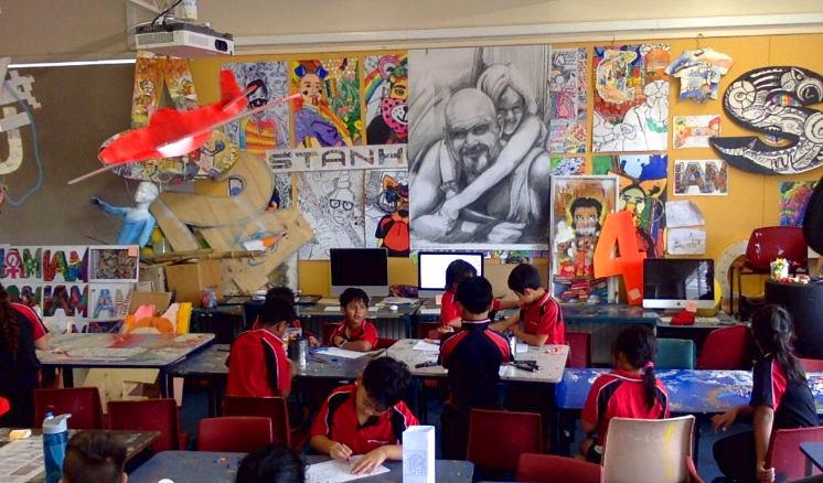 Art Room, Stanhope Road School