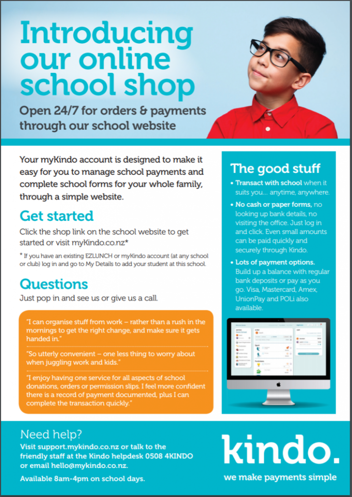 Online School Shop, Stanhope Road School
